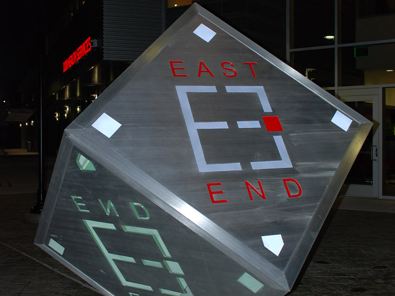 Dow East End cube
