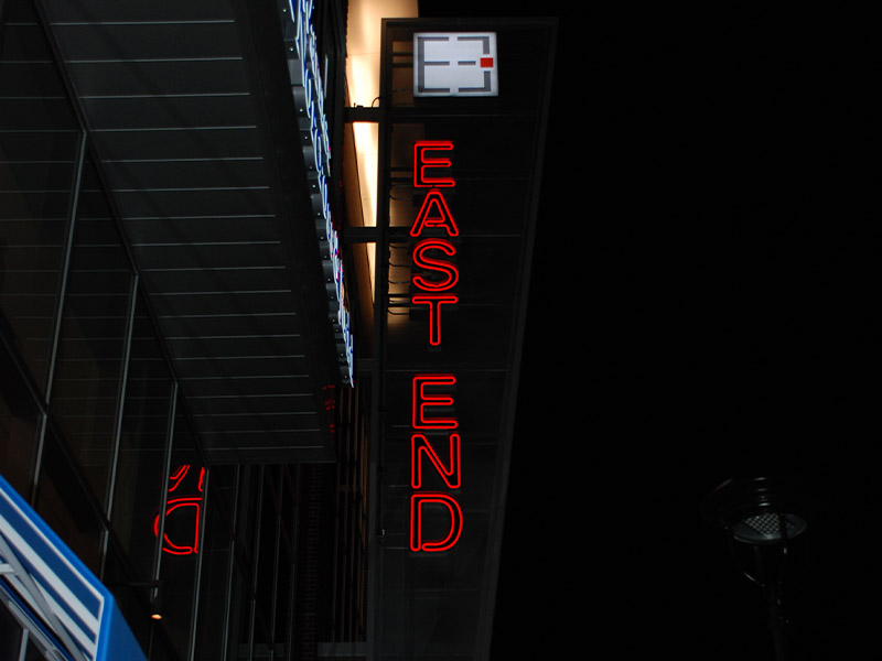 Dow East End sign