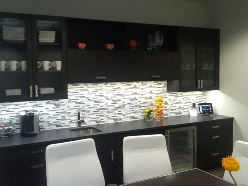 Zeigler Auto Group break room lighting