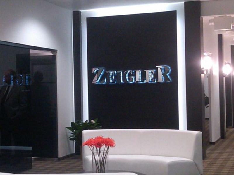 Zeigler Auto Group interior sign